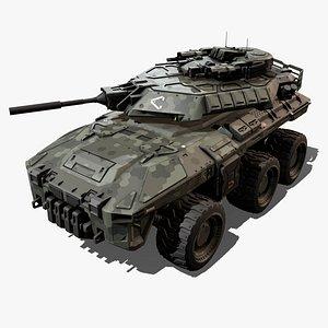 3D SF - Military Vehicle model