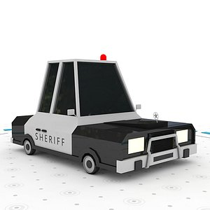 SheriffCar 3D model