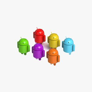3D Android character