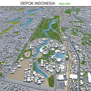 Depok Indonesia 3D