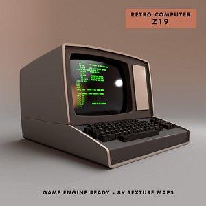 3D computer z19 -