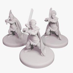 3D miniature miniaturelas model