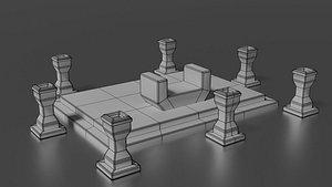 3D altar