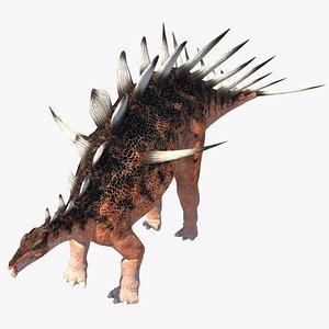 kentrosaurus dinosaur 3D model
