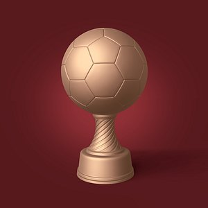 soccer trophy - ready model