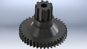 3D slicer Govenje R606E gear model