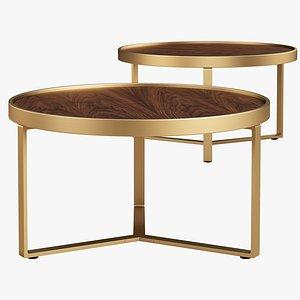 3D Joybird Mindy Coffee Table model