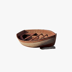 boat polys 3D model