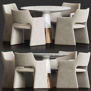 set dining model