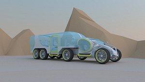 3D car concept vehicle transportation model