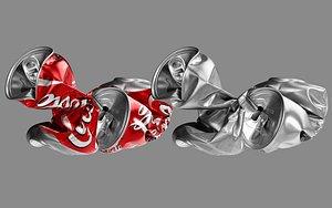 Crushed Soda Can 05