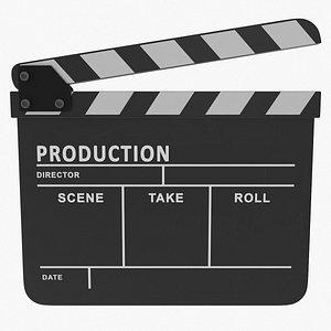3D model clapboard production time