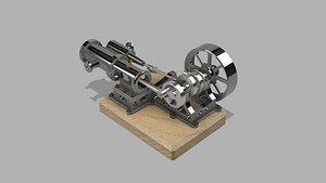 engine scrapbox 3D