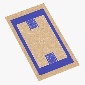 3D Basketball Surface 04