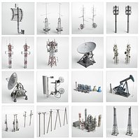 Antennas collection