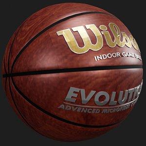 3D ball basketball
