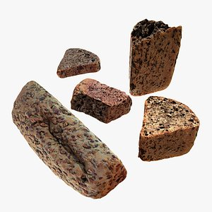 health bread 3D model