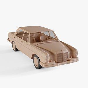 1972 Mercedes-Benz 280S 3D model