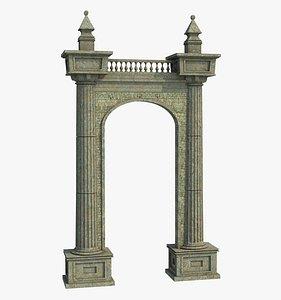 Classic Ancient Arch 3D model