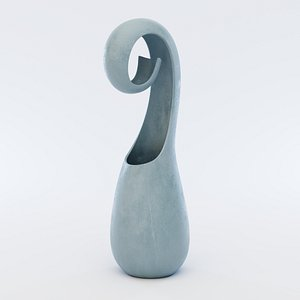 abstract vase model