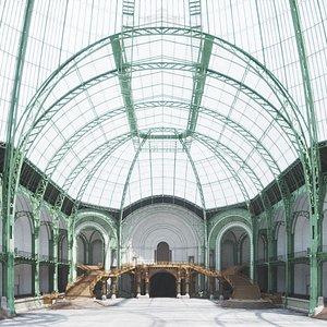 Detailed Grand Palais 3D model