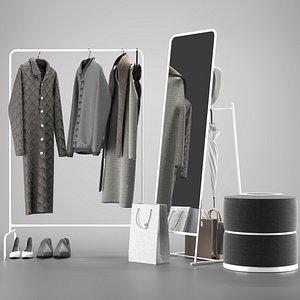 3D Hallway Ikea model