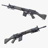 L1AR Assault Rifle GUN - PBR