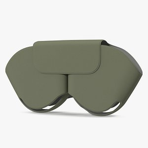 case green airpods 3D model