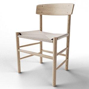 3D model Mogensen Chair