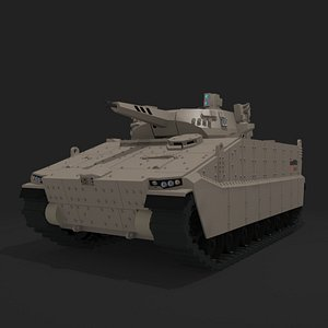 3D AS21 Redback Infantry Fighting Vehicle