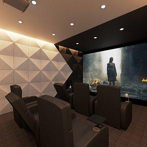 3D home theatre