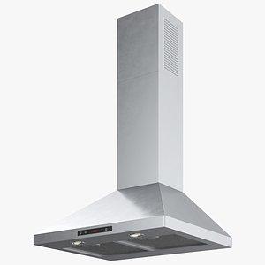 3D oven hood
