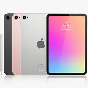 3D Apple iPad mini 6 model