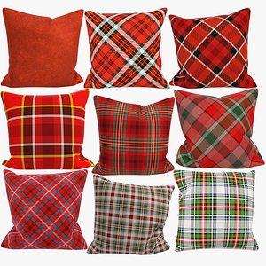 Sofa Pillows Collection V4 3D model
