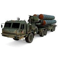 Russian Air Defense System S-400 Triumf