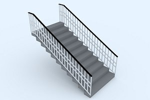3D stairs 55