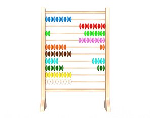 Abacus Wooden Educational Toy model