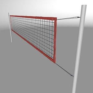 volleyball net 3D