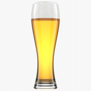 Beer Glass 2 Without Condensation 3D model
