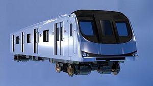ttc train engine 3D