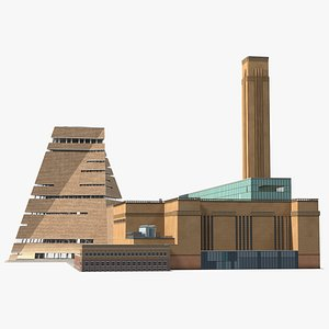 Tate Modern Art Gallery model