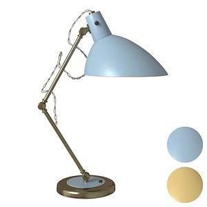 3D retro lamp light