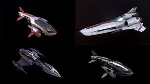 ships 4k pbr 3D model