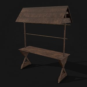 3D model Single Stand Display