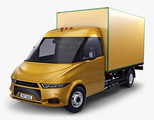 3D generic box truck