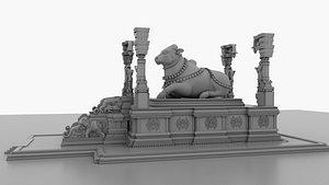nandi statue 3D model