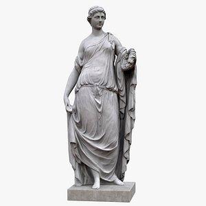 statue flora 3D model