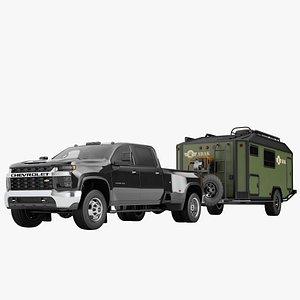 Chevrolet Silverado 3500 HD 2021 20 3D model