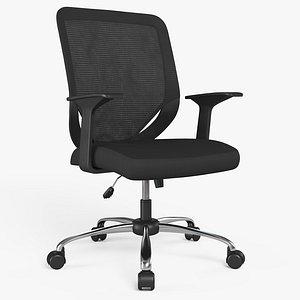 3D Office Chair 02 - 8K PBR Textures model