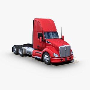 t680 semi truck 3D model